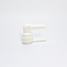 4SE4 Фитинг-колено 1/4 T х 1/4 стержень
