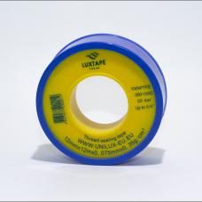 Тефлоновая лента Luxtape Uni 12mm*12m*0,075mm
