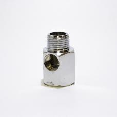 Хромированное латунное соединение Aquafilter FT03 резьба 3/8