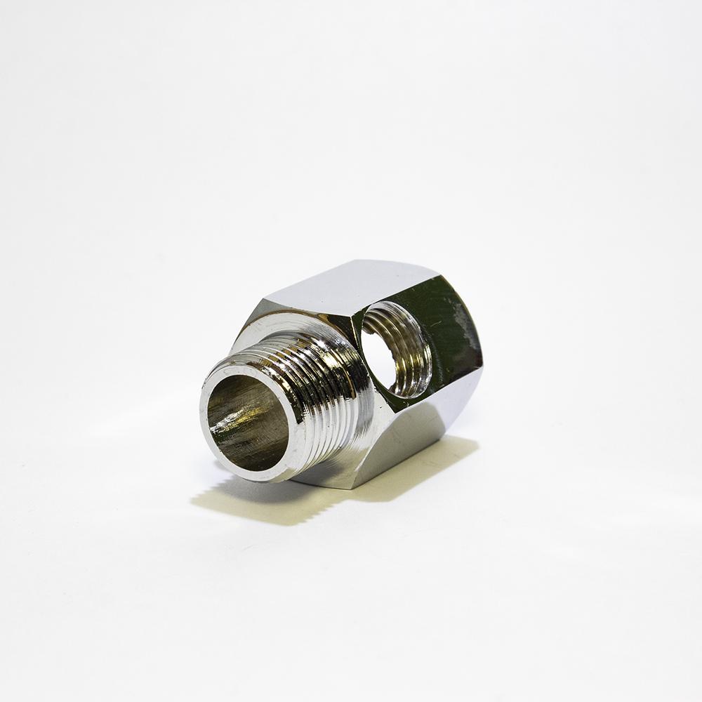 Хромированный адаптер Aquafilter FT03