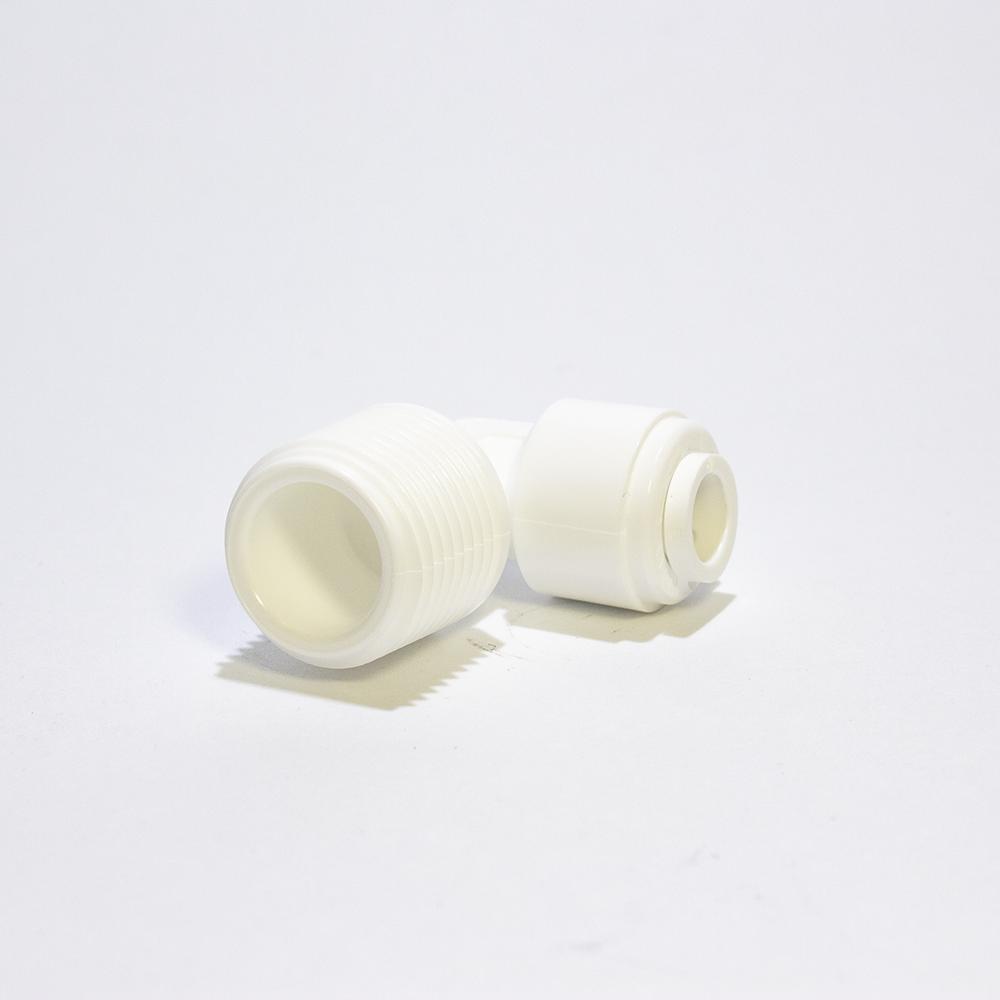 Угольник Аквафор WA-ME0406 (фитинг пластмассовый 1/4 ODx3/8NPTF)