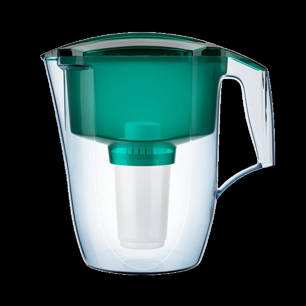 Фильтр-кувшин Аквафор Гарри (2 доп. картриджа) (зелёный)