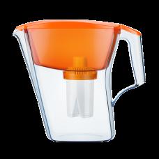 Фильтр-кувшин Аквафор Лайн + антибакт. картридж (оранжевый)