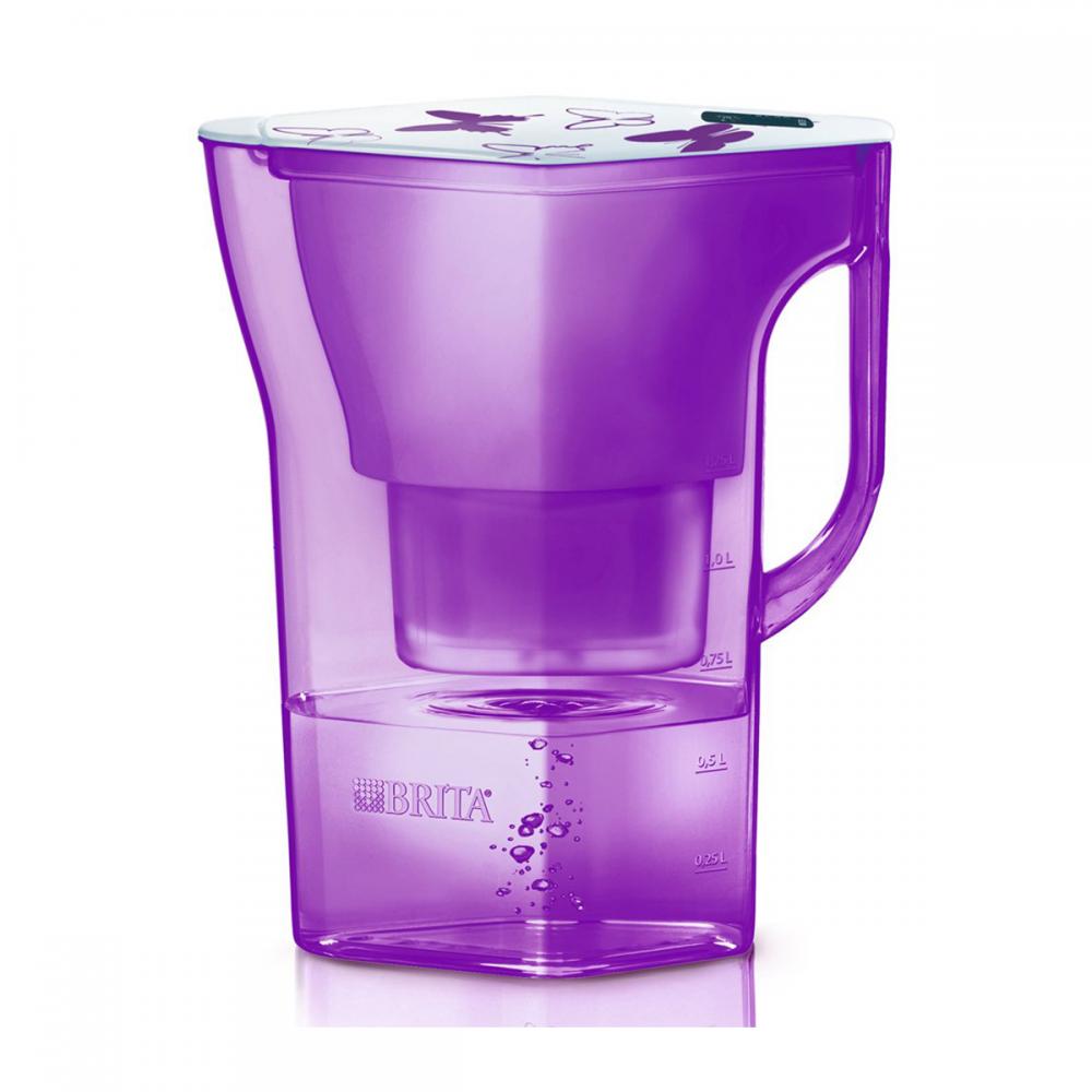 Фильтр-кувшин Brita Navelia (2,3л) фиолетовый