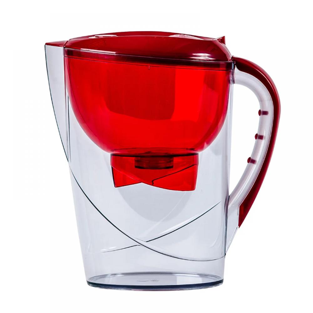 Фильтр-кувшин Гейзер Аквариус (акция, 2й картридж) 3,7л (красный)
