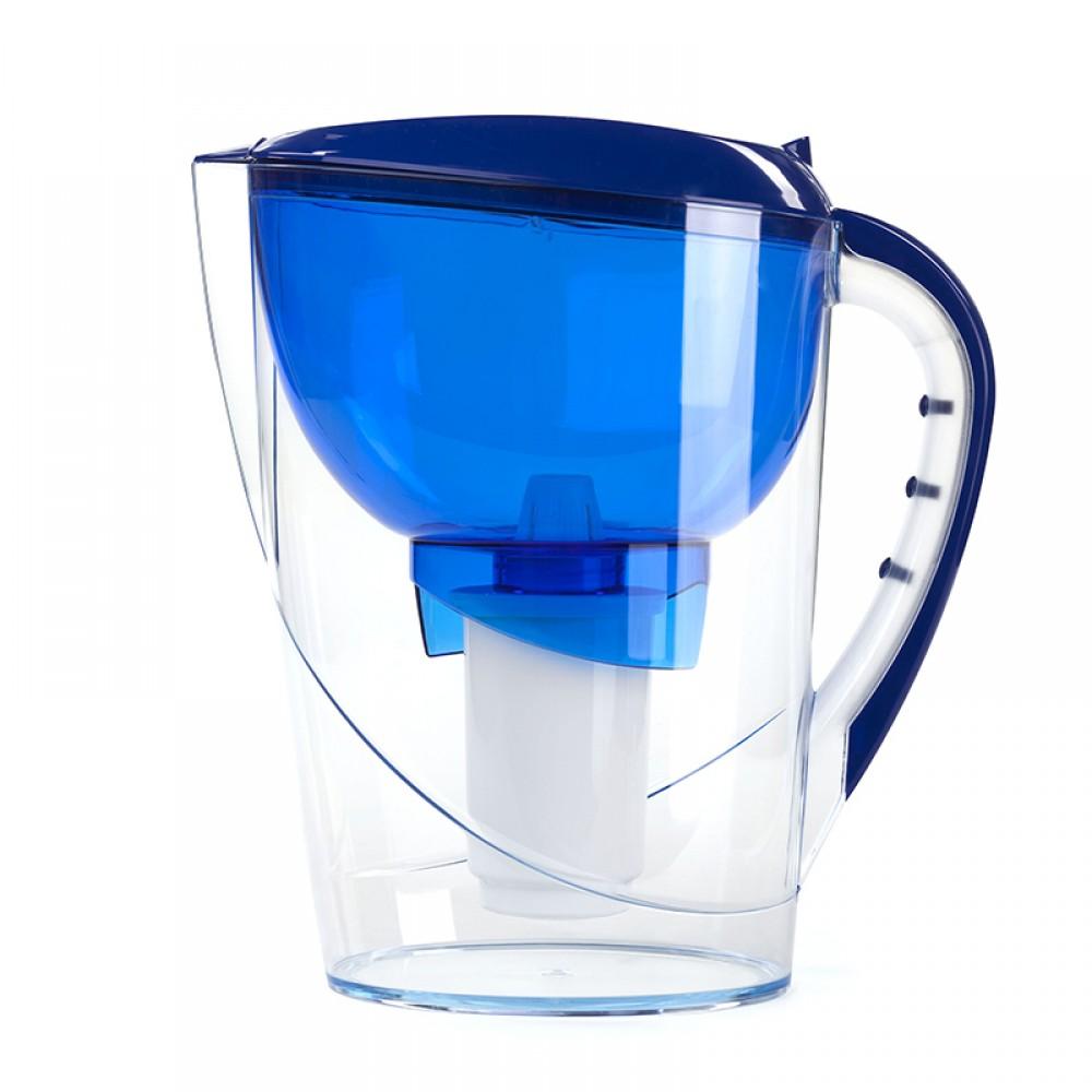 Фильтр-кувшин Гейзер Аквариус (акция, 2й картридж) 3,7л (синий)