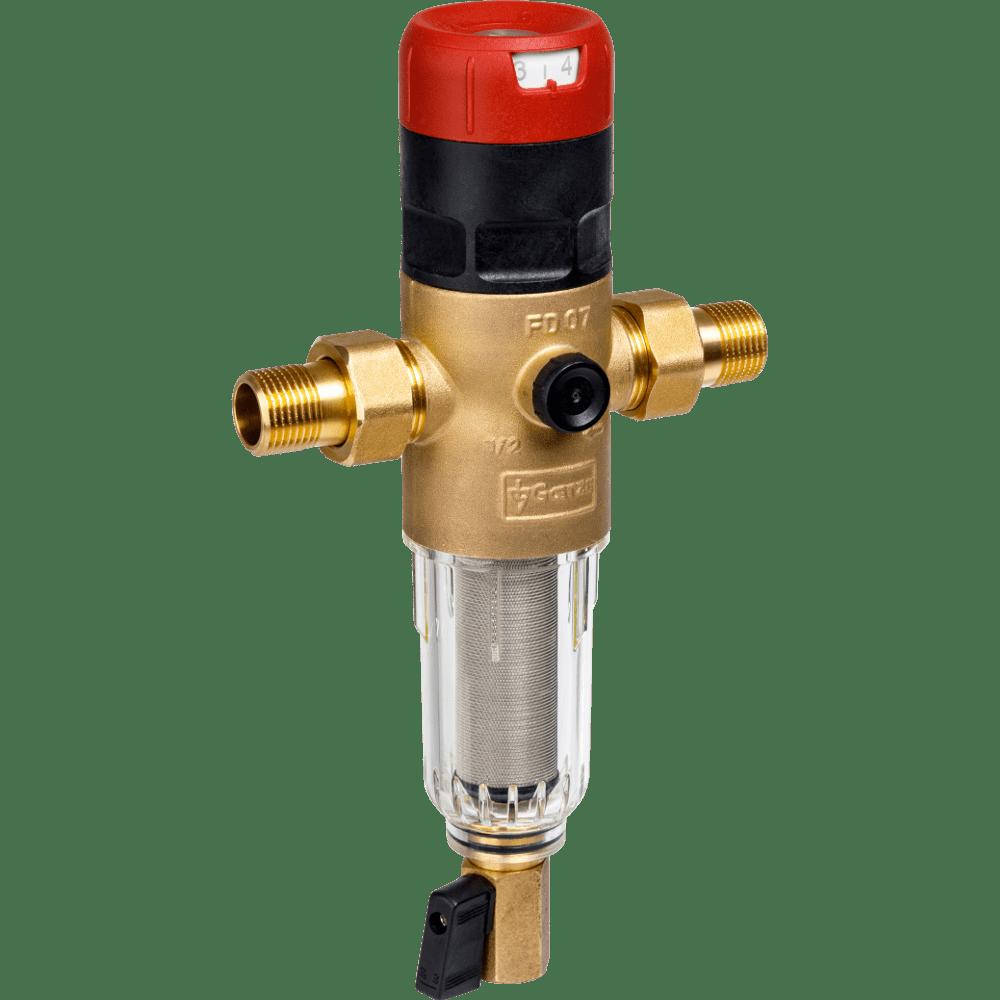 Сетчатый фильтр с редуктором давления Goetze FD07-1/2C (SP)