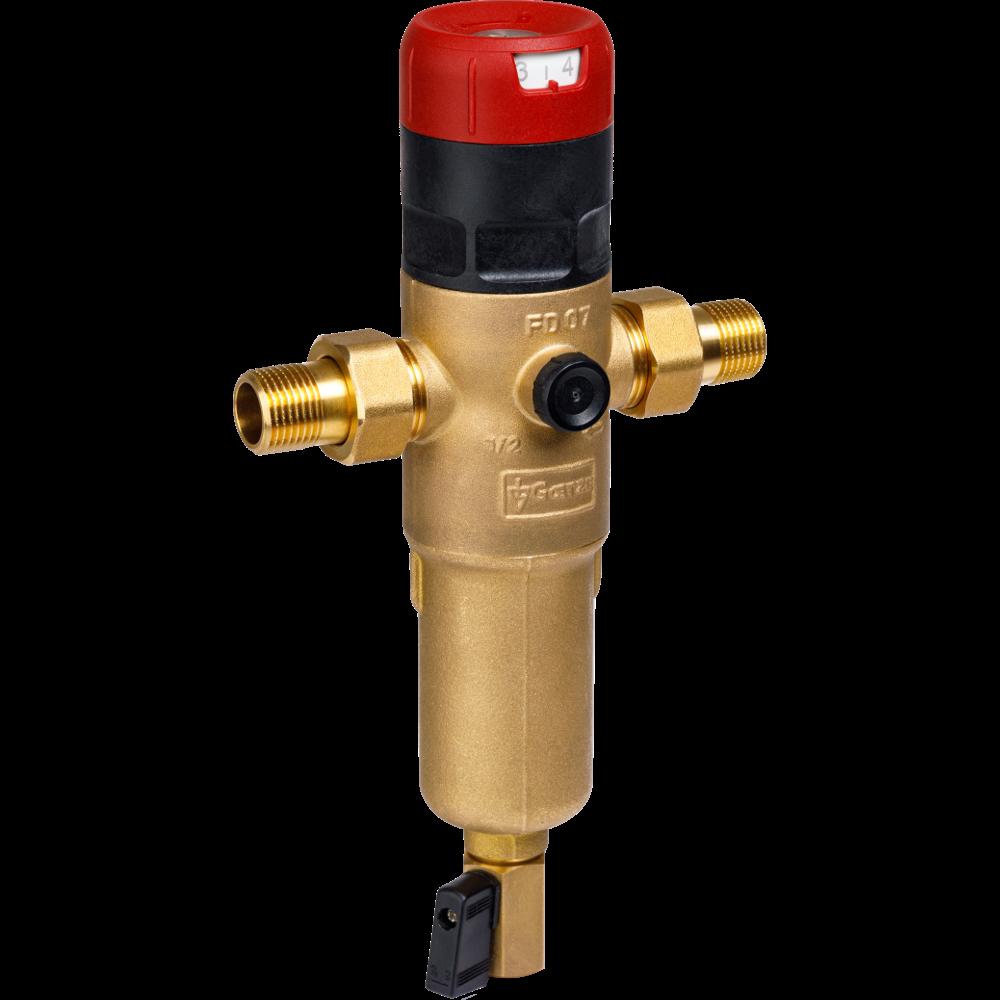 Сетчатый фильтр с редуктором давления Goetze FD07-1/2H (SP)