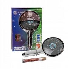 Фильтр для душа Aquafilter FHSH-6-C хромированный