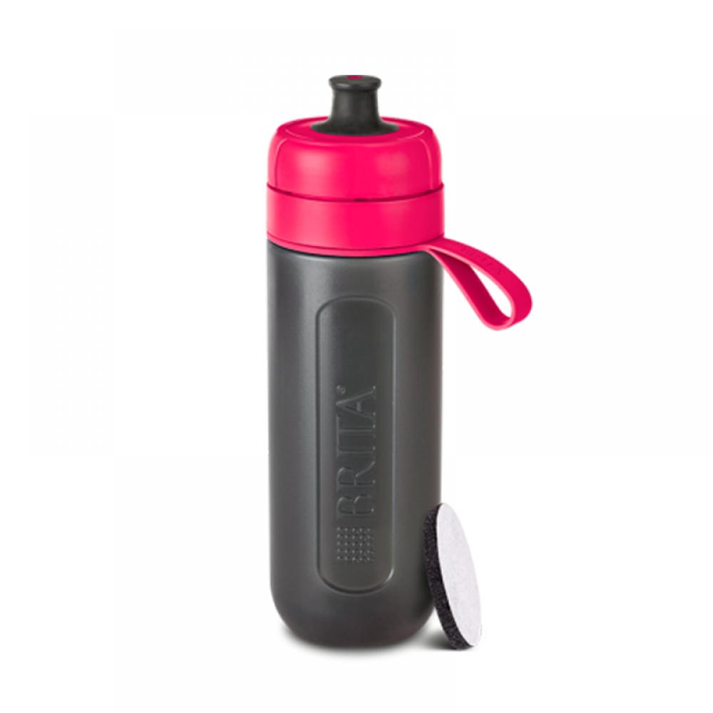 Фильтр-бутылка Brita fill&go Active (розовая)