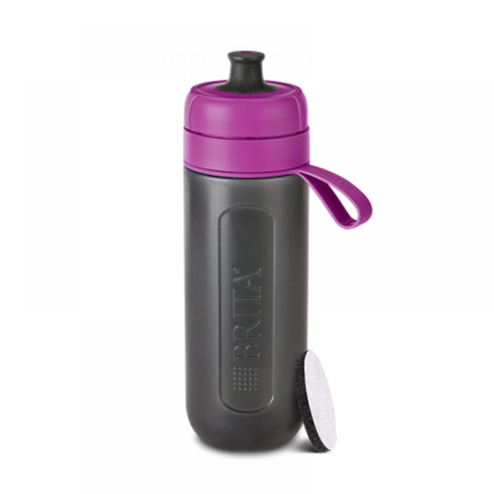 Фильтр-бутылка Brita fill&go Active (фиолетовая)