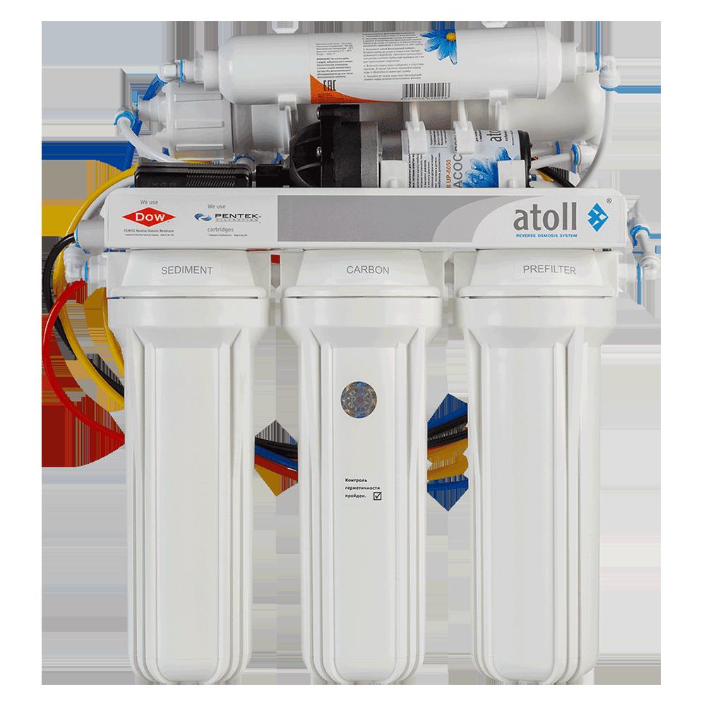 Система обратного осмоса atoll A-550p STD