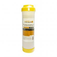 Картридж АкваПро для умягч. воды 10SL ионнообменная смола