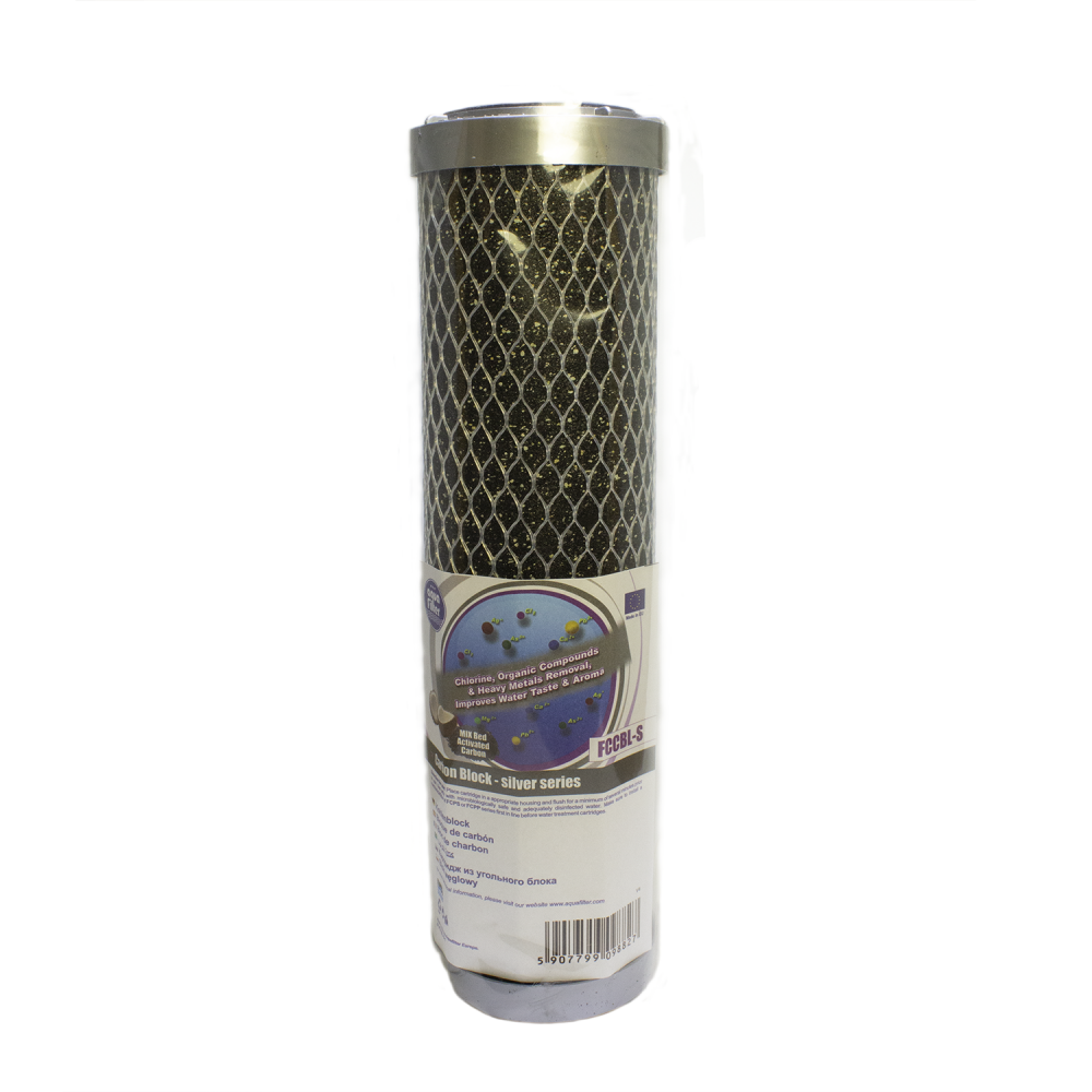 Картридж Aquafilter FCCBL-S угольный Silver карбон-блок 10SL