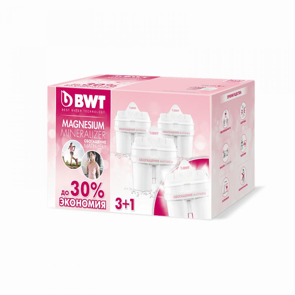 Комплект картриджей BWT обогащение магнием (3+1 шт)